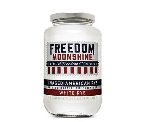 Freedom Moonshine White Rye 750mL