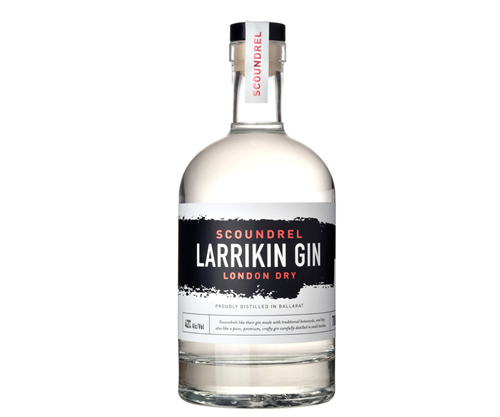 Larrikin Gin Scoundrel London Dry Gin 700mL