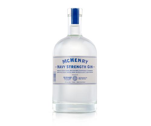 McHenry Navy Strength Gin 700ml