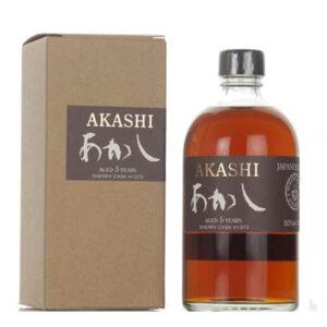 Akashi Single Malt 5 Year Old Whisky 500mL