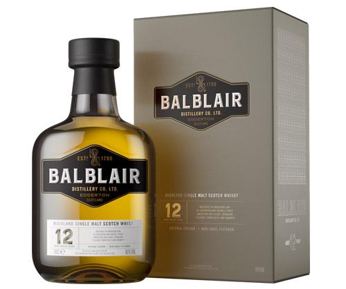 Balblair 12 Years Old Single Malt Scotch Whisky 700mL