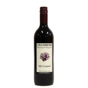 Chambers Mt Carmel Liqueur Port 750ml