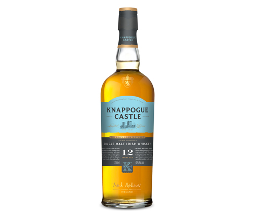 Knappogue Castle 12 Year Old Single Malt Irish Whiskey 750ml