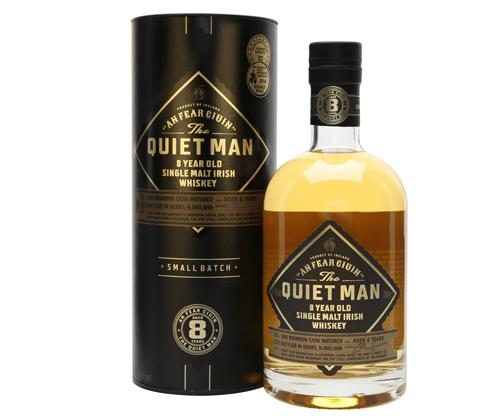The Quiet Man 8 Year Old Single Malt Irish Whiskey 700ml