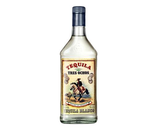 Tres Ochos Tequila 700mL