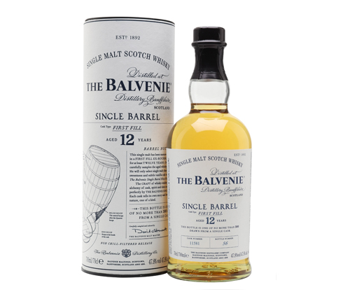Balvenie Single Barrel 12 Year Old Single Malt Scotch Whisky 700ml