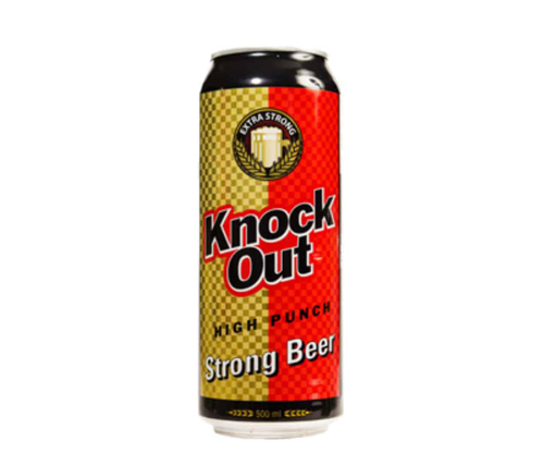 Knock out high punch beer 500ml Cans