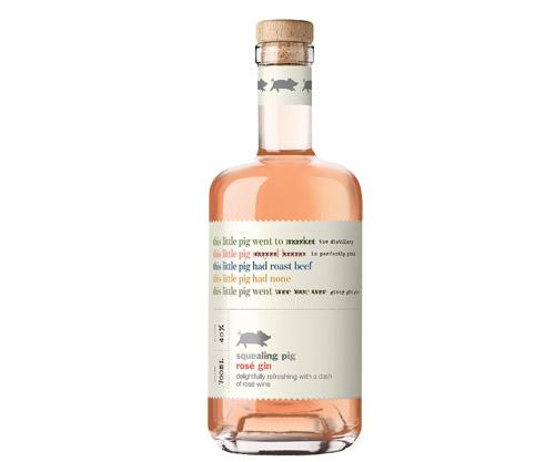 Squealing Pig Rose Gin 700mL
