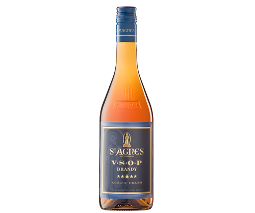 St Agnes VSOP 5 Year Old Brandy 700mL
