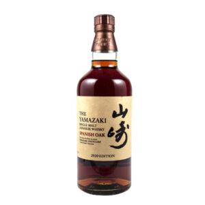 Suntory Yamazaki Spanish Oak 2020 Edition Japanese Single Malt Whisky 700ml