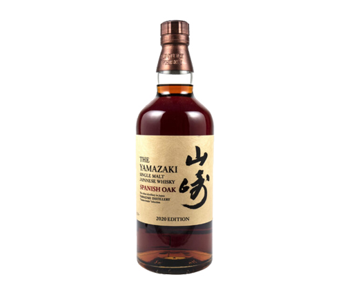 Suntory Yamazaki Spanish Oak 2020 Edition Japanese Single Malt Whisky 700ml