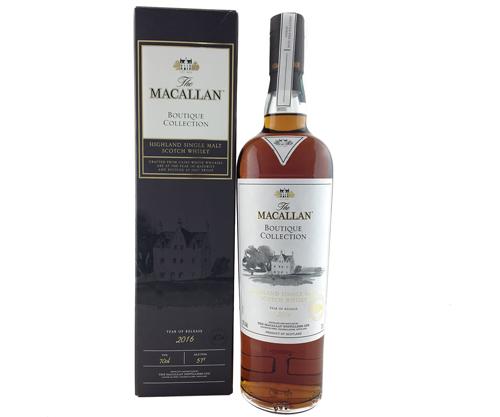 The Macallan Boutique Collection 2016 Single Malt Scotch Whisky 700ml