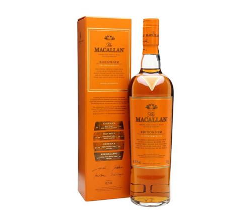 The Macallan Edition No. 2 Single Malt Scotch Whisky 700ml