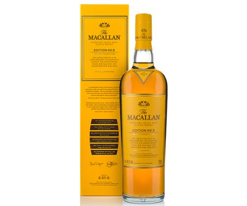 The Macallan Edition No. 3 Single Malt Scotch Whisky 700ml