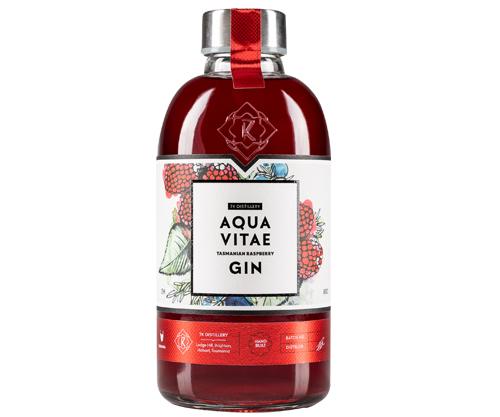 7K Aqua Vitae Tasmanian Raspberry Gin 725mL