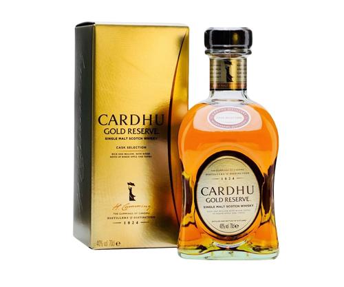Cardhu Gold Reserve Single Malt Scotch Whiskey 700mL