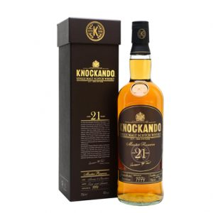 Knockando 21 Year Old Master Reserve Single Malt Scotch Whisky 700mL