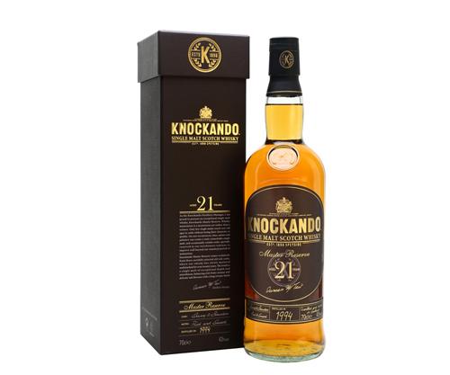 Knockando 21 Year Old Master Reserve Single Malt Scotch Whisky 700mL