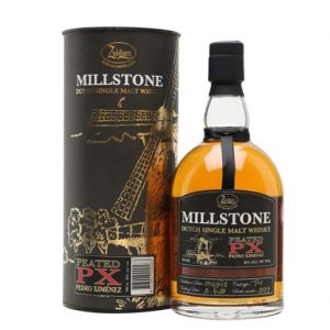 Millstone Single Malt Px Cask Lightly Peated 700mL