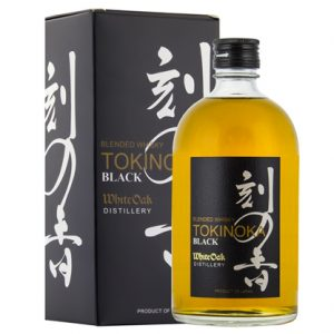 White Oak Tokinoka Black Japanese Whisky 500ml