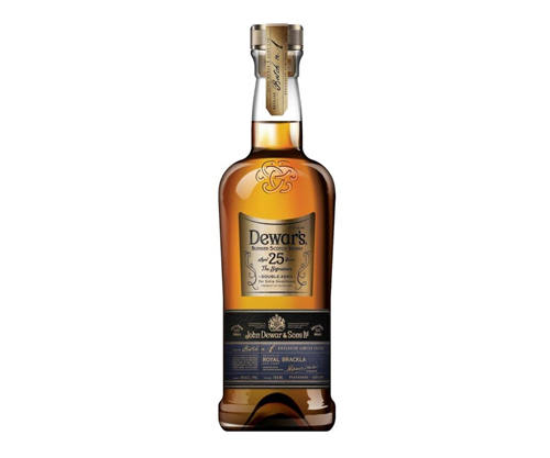 Dewars 25 Year Old Whisky 750ml