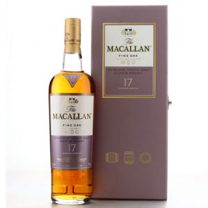 Macallan 17 Year Old Fine Oak Gift Pack 700ml