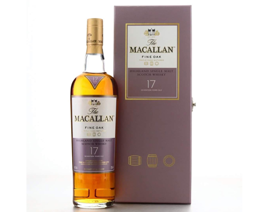 Macallan 17 Year Old Fine Oak Gift Pack 700ml