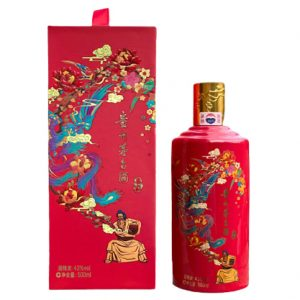 Moutai 43% Red Celebration Edition 500ml