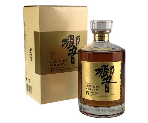 Suntory Whisky Hibiki 17 Year Old & Gold Blended Japanese Whisky 750ml