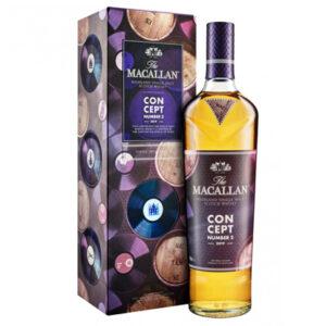 The Macallan Concept Number 2 Single Malt Scotch Whisky 2019 700ml