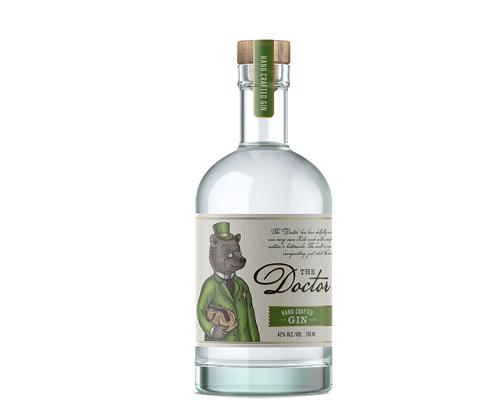 Tiny Bear Distillery The Doctor Gin 700ml
