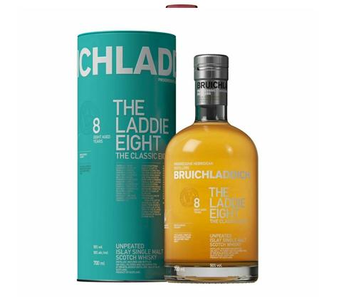 Bruichladdich The Laddie 8 Year Old Single Malt Scotch Whisky 700ml