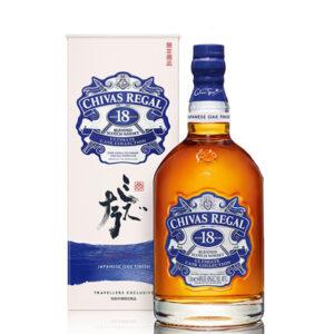 Chivas Regal 18 Limited Edition Japanese Oak Finish Blended Whisky 1000ml