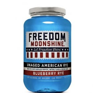 Freedom Moonsine Blueberry Rye 750ml