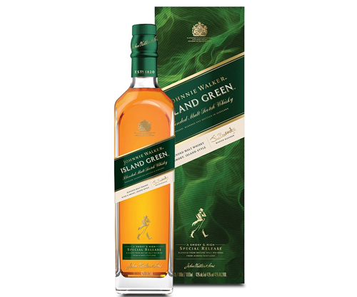 Johnnie Walker Island Green Blended Malt Scotch Whisky 1000ml