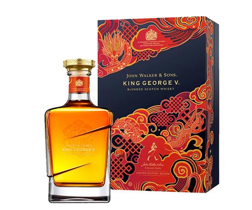 Johnnie Walker King George V Limited Edition Blended Scotch Whisky 750mL