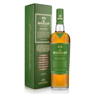 The Macallan Edition 4 Single Malt Scotch Whisky 700ml