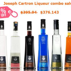 Joseph Cartron Combo Sale (6x 700ml)