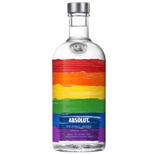 Absolut Rainbow Limited Edition Vodka 700ml