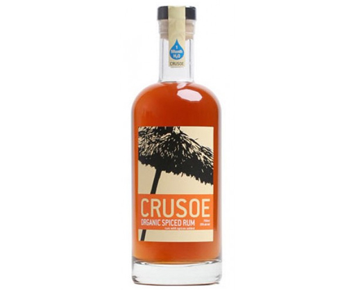 Crusoe Organic Rum Spiced 750ml