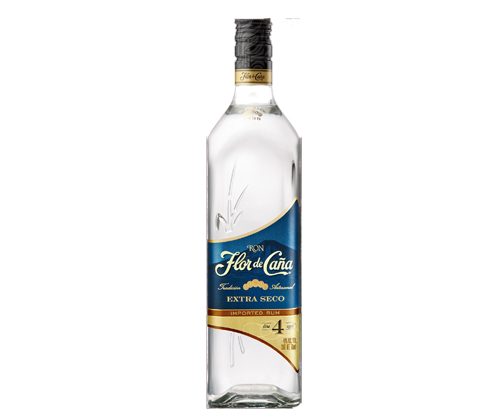 Flor de Cana Extra Seco 4 Year Old White Rum 700ml