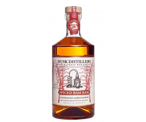 Husk Distillers Spiced Bam Bam Rum 700ml