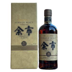 Nikka Yoichi 20 Year Old Single Malt Japanese Whisky 700ml