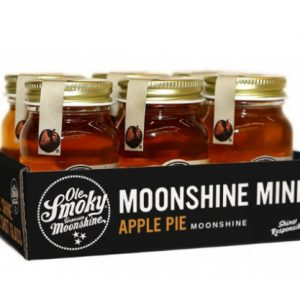 Ole Smoky Apple Pie Moonshine 6 Minis 50ml