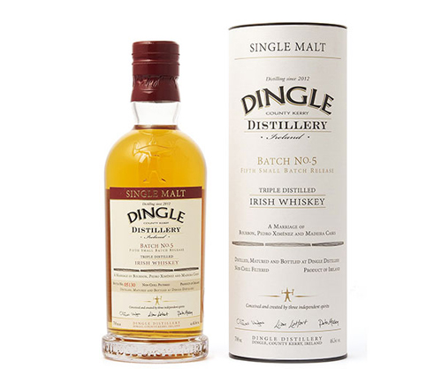 Dingle Batch No 5 Single Malt Irish Whiskey 700ml