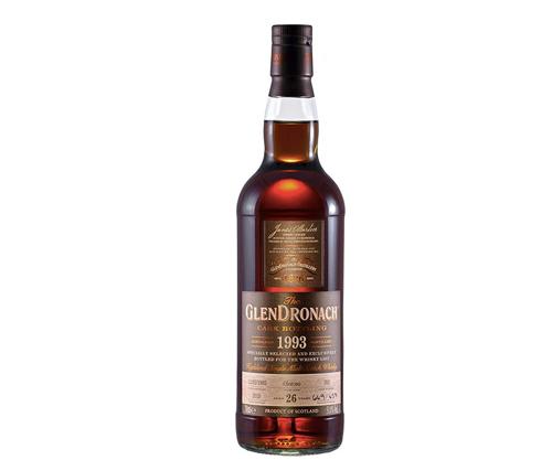 GlenDronach 26 Year Old 1993 Cask #392 Single Malt Scotch Whisky 700mL
