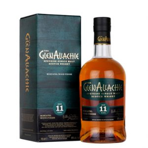 Glenallachie 11 Year Old Moscatel Wood Finish Single Malt Scotch Whisky 700ml