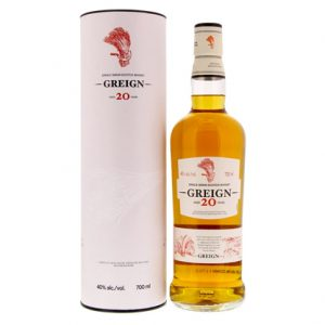 Greign 20 Year Old Single Grain Scotch Whisky 700ml