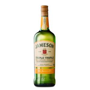 Jameson Triple Triple Blended Irish Whiskey 1000ml