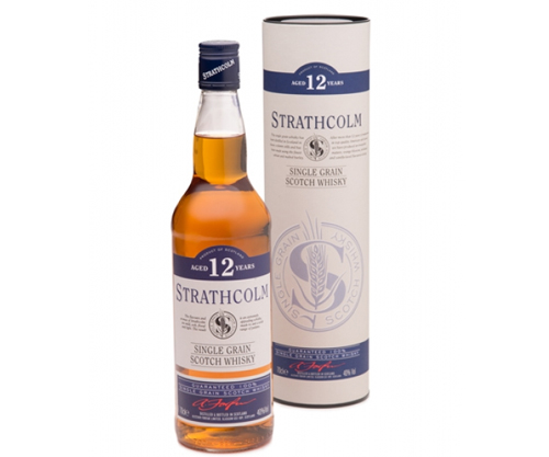 Strathcolm 12 Year Old Single Grain Scotch Whisky 700ml